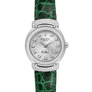 Rolex Cellini Cellissima 26mm White Gold Diamond Ladies Watch 6673