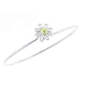 Tiffany & Co. Sterling Silver and 18K Gold Daisy by Paloma Picasso Bracelet