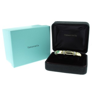 Tiffany & Co. 18K Gold and Diamond Cuff Bracelet