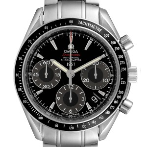 Omega Speedmaster Day Date Black Dial LE Mens Watch 323.30.40.40.01.001