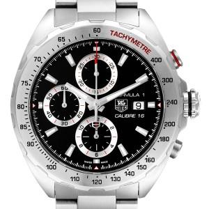 Tag Heuer Formula 1 Chronograph Steel Mens Watch CAZ2010