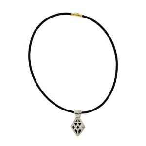 John Hardy 18K Yellow Gold & Sterling Silver Cord Necklace