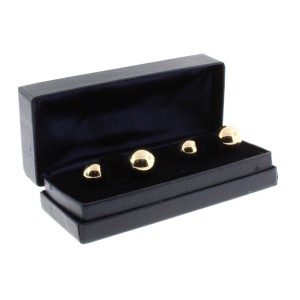 Tiffany & Co. 14K Yellow Gold Cuff Links