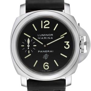 Panerai Luminor Base Logo 44mm Steel Mens Watch PAM01005