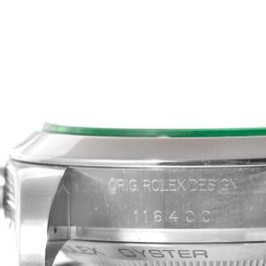 Rolex Milgauss Domed Bezel Green Crystal Stainless Steel Watch 116400V