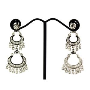 Chandelier Sterling Silver Dangle Earrings