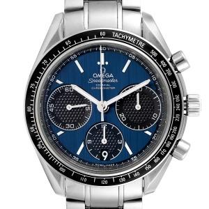 Omega Speedmaster Racing Blue Dial Steel Mens Watch 326.30.40.50.03.001