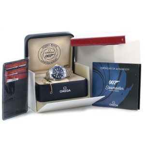 Omega Seamaster 2226.80.00 Stainless Steel 41mm Watch