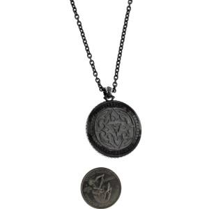 Stephen Webster 925 Sterling Silver Jewels Verne Crystal Haze Fish Skeleton Necklace