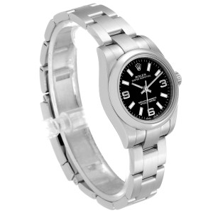 Rolex Oyster Perpetual Nondate Oyster Bracelet Ladies Watch 176200 Box Card