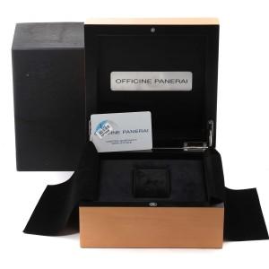 Panerai Luminor Base Logo Acciaio 44mm Mens Watch PAM00630 Box Card