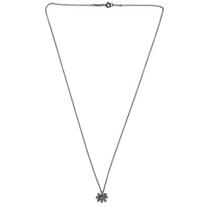 Tiffany & Co. Paloma Picasso PT950 Platinum with Diamond Daisy Pendant Necklace