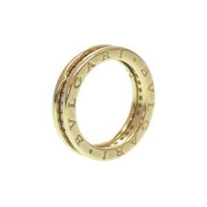 Bulgari B-Zero 1 18K Yellow Gold with Diamond Ring Size 7