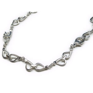 Gucci 925 Sterling Silver Choker Necklace