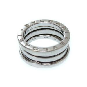 Bulgari B-Zero 18K White Gold Ring Size 5