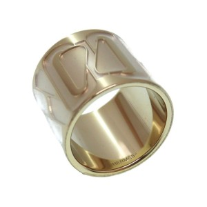 Hermes Gold Tone Hardware Click Senue Scarf Ring