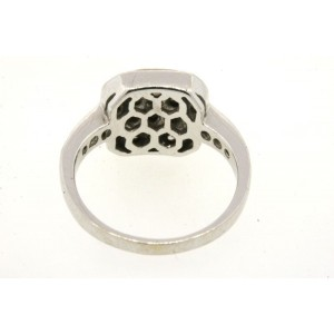 LeVian 14K White Gold with 0.55ct Chocolate Diamond Band Ring Size 5.5
