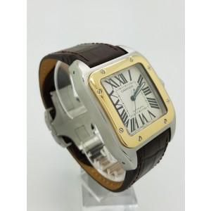 Cartier Santos W20072X7 38mm Mens Watch
