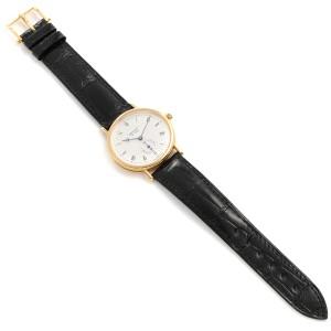 Breguet Classique 18K Yellow Gold Silver Dial Mens Watch 3910BA