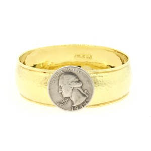Ippolita Hammered 18K Yellow Gold Bracelet
