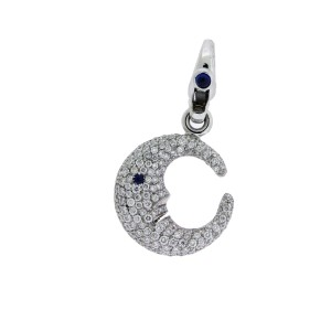 Pasquale Bruni pave 18K White Gold, 18K Yellow Gold Diamond Pendant