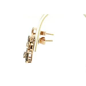 Levian 14K Rose Gold Diamond Earrings