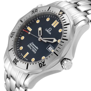 Omega Seamaster 300m Blue Wave Dial 41mm Mens Watch 2542.80.00 Card
