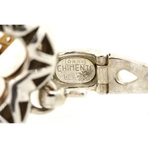 Chimento 18K White Gold, 18K Rose Gold Diamond Pendant