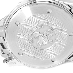 Omega Seamaster White Wave Decor Dial Steel 300m Watch 2532.20.00