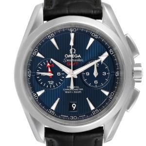 Omega Seamaster Aqua Terra GMT Mens Watch 231.13.43.52.03.001 Box Card