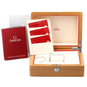 Omega Seamaster Co-Axial Steel Yellow Gold Watch 210.22.42.20.03.001 Box Card