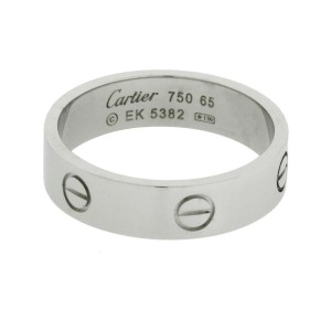 Cartier Love ring in 18 karat white gold size 49 (USA 4.75)