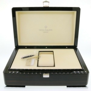 Patek Philippe 5980/1A-001 Nautilus Chronograph Blue Dial Steel Watch Box Papers