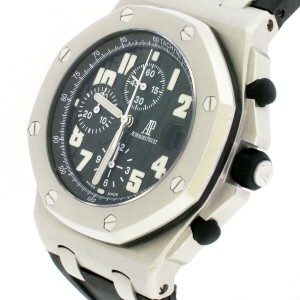 Audemars Piguet Royal Oak Offshore 42mm Black Dial Steel Chronograph Watch