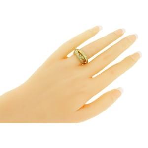 Cartier Women's VS - G Diamond Trinity Ring In 18k Yellow Gold size 5.25