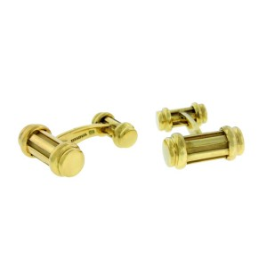Vintage Tiffany & Co Cufflinks in 18k gold 17.77 grams