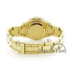 Rolex Yacht-Master 169628 Women's Yellow Gold 29mm Automatic 1 Year Warranty