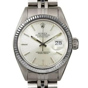 Rolex Datejust 26mm 6916 Women's Silver Index White Gold 26mm 1 Year Warranty