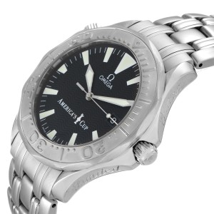 Omega Seamaster Americas Cup Limited Edition Steel Mens Watch 2533.50.00