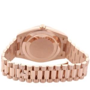 Rolex 228235 Day-Date 40mm Men's Rose Gold Chocolate 1 Year Warranty