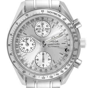 Omega Speedmaster Day Date Chronograph Steel Mens Watch