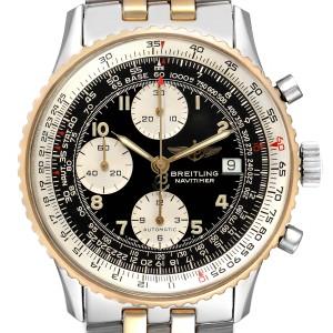 Breitling Navitimer Steel Yellow Gold Chronograph Mens Watch B13019