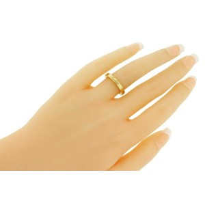 Cartier Lanieres 18k rose gold band ring size 50 with certificate