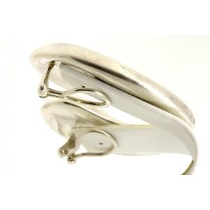 """Tiffany & Co. Peretti Large TearDrop Bean Earrings Vintage 1 7/8"""" Clip On"""