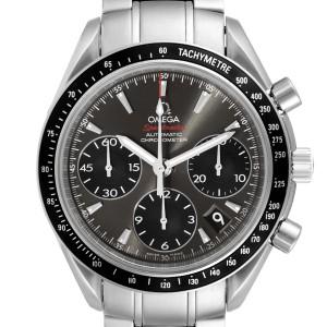 Omega Speedmaster Date Gray Dial Mens Watch 323.30.40.40.06.001 Card