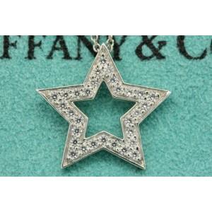 Tiffany & Co. Star Diamond Pendant Platinum $2700