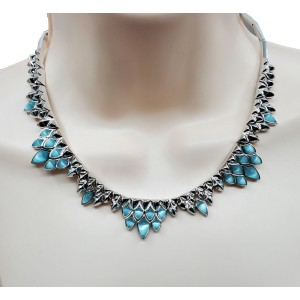Stephen Webster Superstone Blue Cat's Eye Crystal Haze necklace