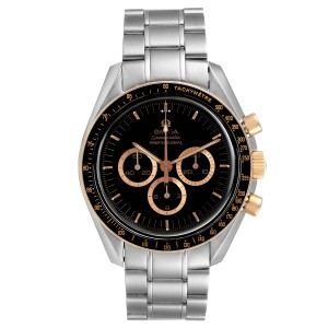 Omega Speedmaster Professional Steel Red Gold MoonWatch 3366.51.00 Box Card