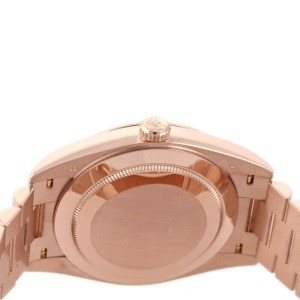 Rolex Day-Date 40mm 228235 Men's Rose Gold Automatic Green 1 Year Warranty
