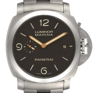 Panerai Luminor Marina 1950 3 Days Titanium 44mm Watch PAM00352 Box Papers